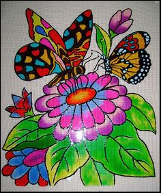 1000 images about botterfliegies on pinterest butterfly for Using fabric paint on glass