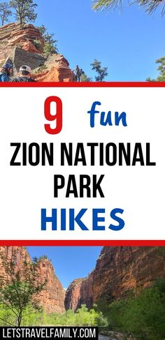 Go hiking on one of these fun Zion National Park Hikes in Zion NP. These Utah National Park hikes are so much fun, espeically if you're looking to do hiking this spring or fall. Enjoy a USA National Park road trip and visit Zion National Park this year. Add Zion NP to your bucket list. #zionnationalpark #familytravel #bucketlistdestinations #utah #usanationalparks #hiking #hikes National Parks Usa, Zion National Park, Bucket List Destinations, Go Hiking, Best Hikes, Family Travel, Utah, Road Trip, Camping