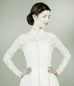 G.R.A.C.E wedding cardigan von Femkit Bride's Collection auf DaWanda.com