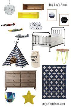 industrial modern boy bedroom #toddler #boybedroom