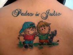 Αποτέλεσμα εικόνας για tatuagem menino e menina palito Mom Tattoos, Star Tattoos, Tatoos, Heart With Infinity Tattoo, New Years Eve Party, Bowser, Tatting, Crystals, Erika