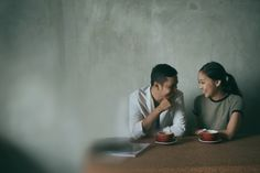 Casual engagement photoshoot | A Laid-Back Couple's Alluring Engagement Shoot In Bandung | http://www.bridestory.com/blog/a-laid-back-couples-alluring-engagement-shoot-in-bandung