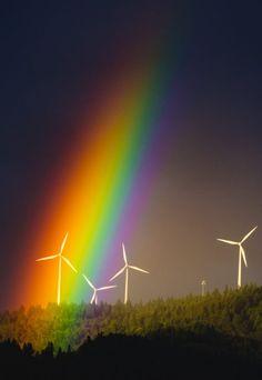 God's Creation,  Thank you, dear Heavenly Father, for the Lovely Rainbow, Peace & Promise! Amen! † ❤