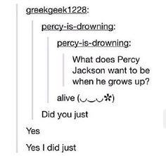 Like A Loose Cannon Percy Jackson Heroes of Olympus lol