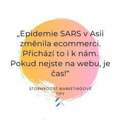 Pandemie SARS změnila v Asii vnímání ecommerce. Lidé si zvykli nakupovat online a v mnoha případech se už do kamenných obchodů nevrátili. Pokud ještě nejste na webu, je čas!  #ecommerce #marketing #online #webovestranky #web #podnikani #eshop #onlinemarketing #reklama E Commerce, Online Marketing, Chart, Ecommerce