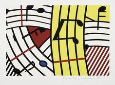 Roy Lichtenstein - Composition IV (1995)