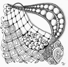 MartaHarveyArt: Zentangle Workshop - Week 5