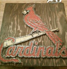 Cardinals String art
