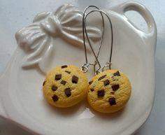 Orecchini Cookies in fimo