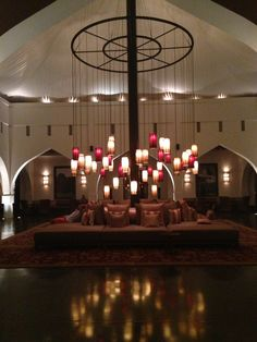 The Chedi hotel lobby in Muscat, Oman