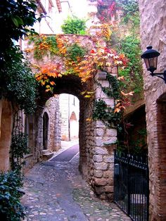 Ancient, St. Paul de Vence, France