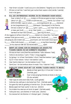 #ClippedOnIssuu from SkerpmakerB3 School Worksheets, School Resources, Afrikaans Language, Teaching Techniques, Math Addition, Teaching Aids, School Readiness, Kindergarten Math, Kids Education