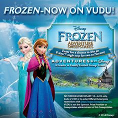 Frozen is now available on Digital HD on Vudu Movies & TV! Get it now!