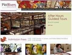 Pitt Rivers Museum website - Home