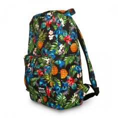 Disney Stitch Hawaiian Kids Large Backpack