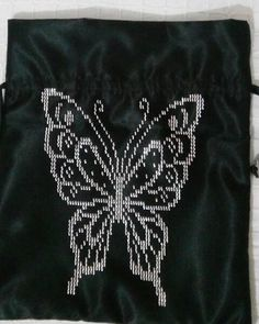 Weaving Patterns, Hand Embroidery, Cross Stitch, Brooch, Purses, Future, Cross Stitch Embroidery, Butterflies, Punto De Cruz