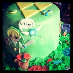 April 2013_The Legend of Zelda Cake  for my sister <3