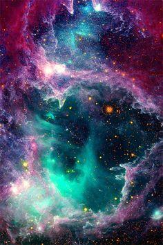 Pillars of Stars Nebula