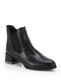 YSL- crock boot