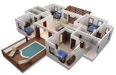 Floor Plans For Homes 4 Bedrooms In South Carolina