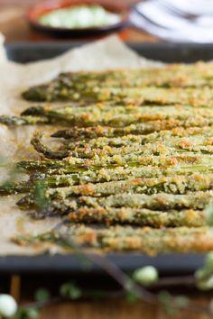 Spargel Fritten mit Parmesan // Asparagus Fries with Parmesan