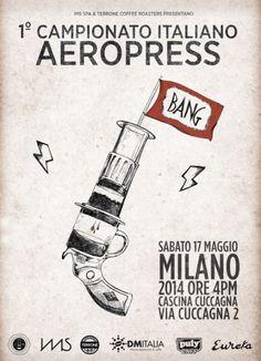 Italian AeroPress Poster