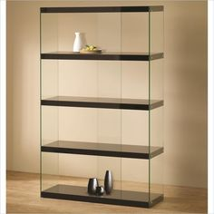 Coaster Tempered Glass Display Cabinet in Black $306.95
