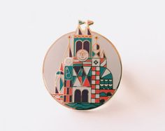 Off To Neverland Pin by StudioGrason on Etsy