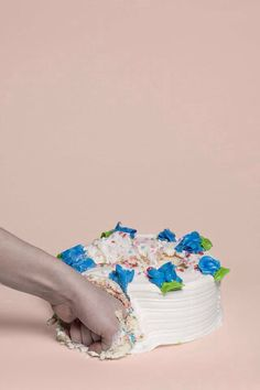 Have YOU punched a cake today? ...You should. It feels good.