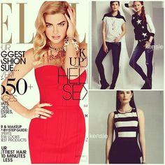 #Kensie as seen in Elle Magazine, September 2013