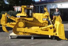 . Toys In The Attic, Heavy Equipment, Diecast, Tractors, Buildings, Construction, Models, Detail, Building