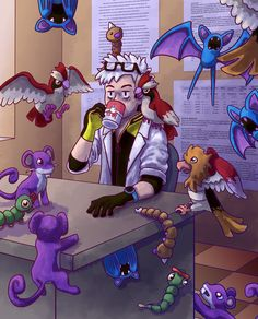 Meanwhile, Professor Willow by Blique on DeviantArt