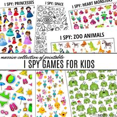 05e18229a0 Huge collection of printable I spy games for kids from And Next Comes L Spy  Games