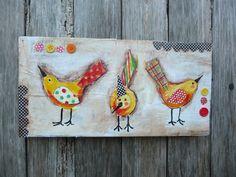 Sweet+Birds+van+evesjulia12+op+Etsy,+$52,00