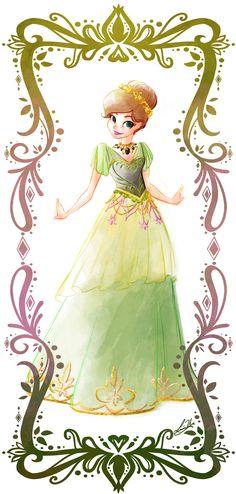 Deco Disney: Anna by Lorraine Yee