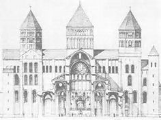 Image result for cluny iii abbey church