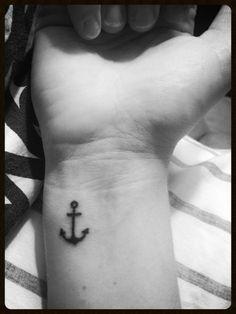 wrist tattoo anchor - Google Search
