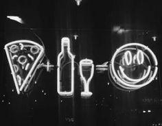 pizza + beer = :)
