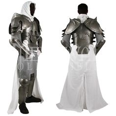 Just ordered it. The price was pretty intimidating especially since it didn't come with the cloak or chainmail.