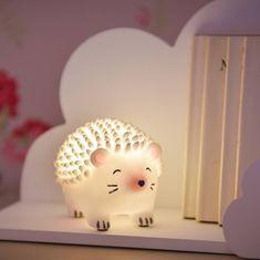 Nursery night light blue and pink night light girl nursery light rose night light nursery light