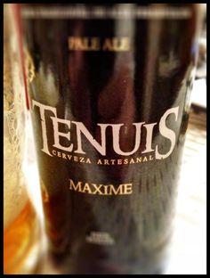 El Alma del Vino.: Cervezas : Cerveza Artesanal Tenuis Maxime Pale Ale.