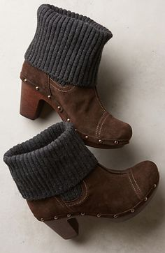 cuffed clog boots  http://rstyle.me/n/q4a8epdpe