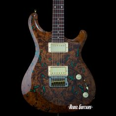 Knaggs Guitars Tier 2 Severn Trembuck Redwood with Chrysocolla Stone Inlays | Rebel Guitars