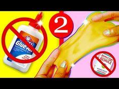 HAZ SLIME CON 2 INGREDIENTES SIN PEGAMENTO  No BORAX, Detergente, Solución [CASERO] - YouTube