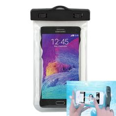 phone case  for samsung galaxy s3 s4 s5 s6 s7 for iphone 4 4s 5 5s 6 plus transparent waterproof cover pvc material bags & cases //Price: $4.45//     #electonics