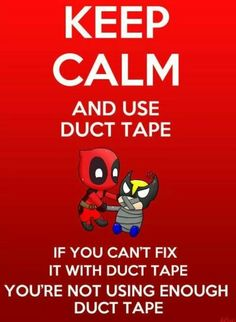 Duct tape fixes everything even muffles stupid :-D