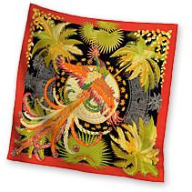 Hermes Women's Silk Twill Pocket Squares in Red | Hermes.com Nice little hankie for my handbag