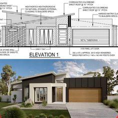 House Exteriors, Cladding, Garage Doors, New Homes, Outdoor Decor, Wall, Home Decor, Decoration Home, Room Decor