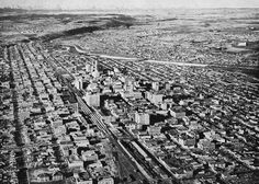 Calgary 1960 aerial - In Calgary was a thriving city with a population of The city covered square miles, including several new areas annexed in University Of Calgary, Library Pictures, Canadian Pacific Railway, Western Canada, New City, Alberta Canada, Aerial View, City Photo, 1960s