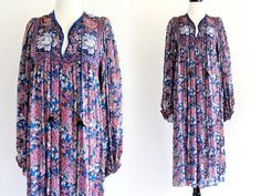 70s Vintage Rilu Kuwan Judith Ann India Pure by LuvStonedVintage